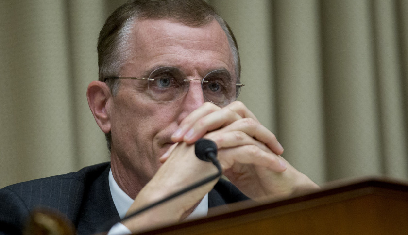 Another obstacle bottlenecks Rep. Tim Murphy's mental health reforms. Photographer: Andrew Harrer/Bloomberg via Getty Images