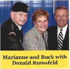 Kernans with Rumsfeld