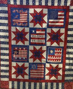 Patriotic Quilt - Full