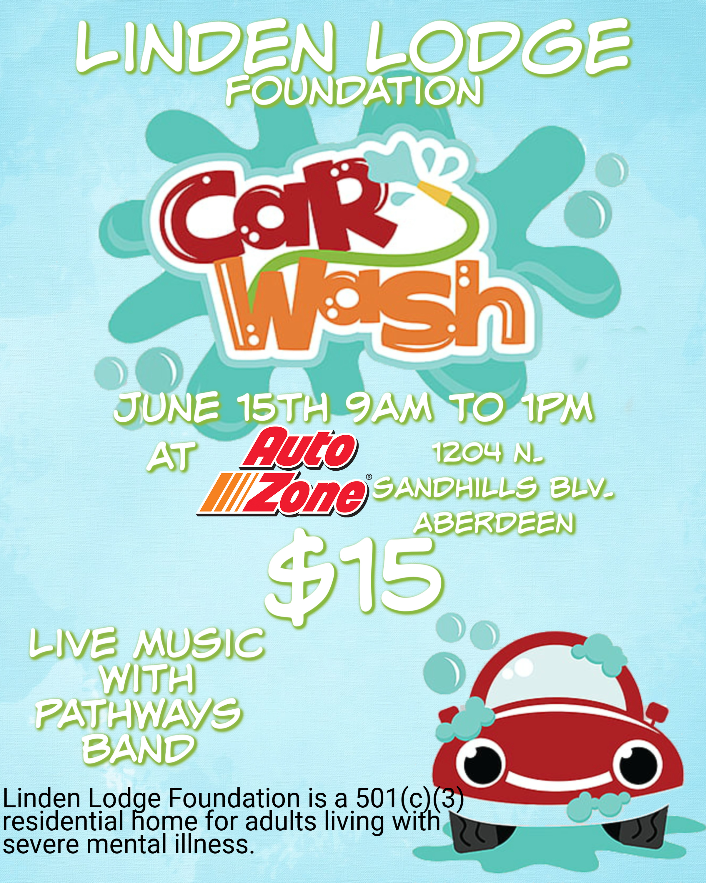Car Wash Fundraiser Linden Lodge