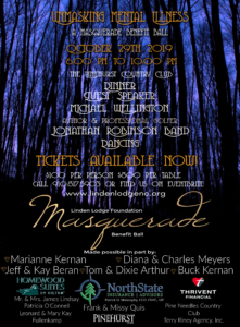 Unmasking Mental Illness- A Masquerade Benefit Ball @ Pinehurst Country Club