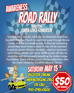 Awareness Road Rally @ Sandhill Alliance Church